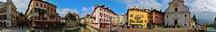 Panoramic Annecy (pdellouve) Tags: panorama france annecy alpes