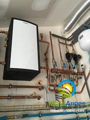Sistema de Calefaccin mediante MPS 40 (Moris Arroes) Tags: de casa asturias moris oviedo gijon llanes calor fontaneria calefaccin vwl ventilacion vaillant arroes recuperador recovair arotherm