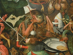 The Fall of the Rebel Angels, Pieter Bruegel the Elder, 1562, Brussels. (Stuart Frost) Tags: brussels rebel belgium may angels elder pieter 2016 bruegel 1562