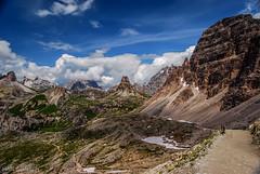 Drei Zinnen Htte in sight (Hilde Saelens) Tags: italy dolomites altoadige southtirol dolomiten dreizinnenhtte dreizinnentrecime