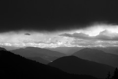 brutale (glookoom) Tags: light blackandwhite bw black nature monochrome montagne landscape noir noiretblanc lumire contraste nuage blanc massif chamrousse rhnealpes merdenuages