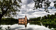 Chteau de Horst, Belgium - BMZ (Bemez-Pictures) Tags: sky castle history nature clouds landscapes belgium reflect paysage reflexions reflets bemezpictures
