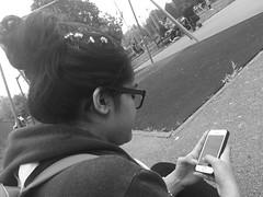 park life (jesikapunja) Tags: park apple backpack messyhair daisy chill ipone lovedaisys messyhairdontcare justaquickcheck