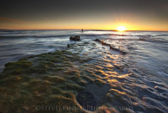 Where The Octopus Lives (sjs61) Tags: seascape surf sandiego sunsets reef sunrays encinitas octupus swamis northcounty steveskinner steveskinnerphotography sjs61