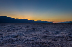 Death Valley Salt Flats (agball99) Tags: california travel sunset landscape desert deathvalley saltflats