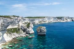 Corse (y.becart) Tags: blue sea sun mer france stone de french island vacances corse turquoise corsica grain sable ile bleu u holliday bloc rocher sud roche bonifacio hollidays diu calcaire corsia grossu