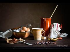 BODEGN CON CHOCOLATE (Miguel Calleja) Tags: stilllife chocolate bodegn cioccolato chocolat naturemorte naturamorta