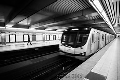 Bloor Station (becknatasha988) Tags: subway toronto bloor subwaystation blackandwhite bw canon7d tokina 1116mm 28