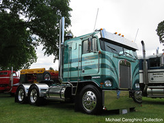 Paul Adam's 1982 Kenworth K100 (Michael Cereghino (Avsfan118)) Tags: 2016 aths american historical truck society national show convention kenworth k100 cabover cab over engine coe semi paul adams kw
