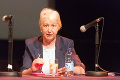 Former MEP Nuala Ahern (European Parliament Office Ireland) Tags: ireland irish education europe politics arts lecture irishlanguage gaelic europeanunion mep europeanparliament summerschool coclare parlaimintnaheorpa europeanparliamentofficeinireland merrimansummerschool gallantalliesineurope