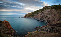 Rocky cove. (lynamPics) Tags: 24105l 5dmkii capeclevaland lighthouse townsville australia landscape