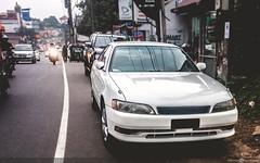 Toyota Mark II ` (Aadil Chouji Schiffer) Tags: 2 white cars car sedan japanese automobile power mark stock ii toyota  luxury jdm powerhouse markii shiroi  x90 1jz    jzx90  ii zx90 2