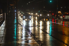 Traffic on Dundas (jer1961) Tags: toronto rain night traffic nighttraffic dundasstreet