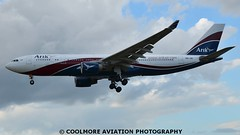 2014_07_06_LHR622 (COOLMORE PHOTOGRAPHY) Tags: airport heathrow 330 airbus a330 lhr egll a3302 arikair airbusa3302 airlineraircraft heathrow5njid airlinerslondon
