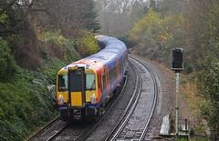 458535 (stavioni) Tags: new west electric train south rail railway trains richmond multiple emu unit swt class458 458535
