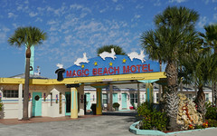 The Magic Beach Motel (kzural) Tags: building colors architecture digital florida kitlens historical staugustine panasonic1442 panasonicgx1