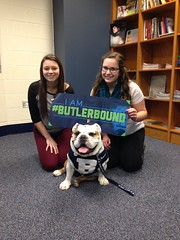 """Meet Kate & Monica of Riverside Brookfield HS. They have been accepted to @butleru! #ButlerBound • <a style=""""font-size:0.8em;"""" href=""""http://www.flickr.com/photos/73758397@N07/15430773253/"""" target=""""_blank"""">View on Flickr</a>"""