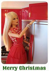 Merry Christmas (Inger K) Tags: barbie 25 basics mattel louboutin