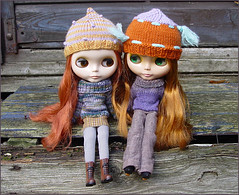 Two red-haired beauties