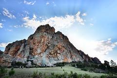 Mt Arapiles (phunnyfotos) Tags: sky cloud mountain rock clouds spring nikon skies rocky australia victoria vic rockclimbing rockclimbers climbers photodrive lateafternoonlight rockclimber mtarapiles bushwalkers wimmera mountarapiles d5100 nikond5100 phunnyfotos