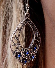 Glimpse of Malibu Blue Earrings K1 P5710-3