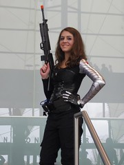 The Winter Soldier (magnet_terp) Tags: vacation cosplay conventions hampton crossplay wintersoldier hrcc nekocon buckybarnes hamptonroadsconventioncenter nekocon17 nekocon2014