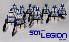 501st Legion (Fithboy) Tags: trooper john star starwars lego echo attack corps elite 501st wars cody clone gree commander legion bly 41st fives battalion kashyyyk cabg minifgure denno 327th 212th fithboy xxxdennoxxx