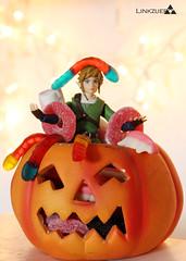 Happy Halloween (linkzuero) Tags: halloween toys nintendo games master figure link sword videogame zelda fi minis miniaturas supernintendo thelegendofzelda figma nintendolife linkzuero nintendista nintendólatras