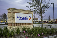 Mercantil Commercebank Monument Sign (Mabry Campbell) Tags: 2014 2015 abel abeldesigngroup december harriscounty houston january mabrycampbell mercantil mercantilbank mercantilcommercebank mercantilecommercebank sanfelipeatfountainview tx texas us usa unitedstates unitesstatesofamerica architecturalphotography architecture architecturephotography bank building client colorimage commercial commercialexterior commercialphotography daytime detail exterior fineartphotography freestandingbuilding image nopeople photo photograph photographer photography pylonsign sign stone tiltshift f40 january152015 20150115h6a2327 50mm ¹⁄₄₀sec 200 ef50mmf12lusm commercialproperty realestate commercialrealestate