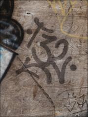 T32 (Alex Ellison) Tags: urban graffiti boobs tag graff 32 eastlondon opd t32 temp32
