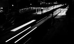 (mgkm photography) Tags: bw blancoynegro portugal monochrome 50mm sintra gimp tramway blackandwhitephotography urbanphotography fotografiaurbana fotografianocturna blackwhitephotos longexposurephotography nikonphotography ilustrarportugal d3100