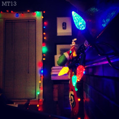 Tis The Season (23/12/2013) (Matthew Trevithick Photography) Tags: christmas winter holiday ontario canada london festive season lights matthew led colourful stocking mantle iphone trevithick 2013 matthewtrevithick mtphotography instagram
