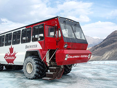 Brewster Ice Truck (JayneLM, Flickr fickle) Tags: travel holiday canada mountains ice landscape rockies scenery columbia glacier alberta parkway brewster athabasca columbiaicefields icefield skywalk 2014