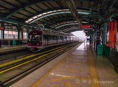 Life In A Metro (Pixel Trailz) Tags: metro karate ulsoor someshwara