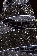 detail tree (Val in Sydney) Tags: christmas light tree harbour sydney australia noel led kings lumiere wharf nsw darling arbre australie