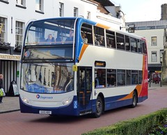 Stagecoach South 15604 (GX10 HBO) Chichester 23/12/14 (jmupton2000) Tags: uk bus sussex south 400 coastline alexander dennis 700 stagecoach scania enviro southdown coastliner gx10hbo