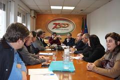 Marco António Costa em reunião com os TSD
