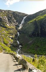 Stigfossen (olafhelwig) Tags: norway waterfall wasserfall foss cascade cascada  cascate noorwegen cascata  waterval mreogromsdal  vodopd wodospad