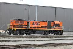 DAZ1904 stabled at Forrestfield 20-6-12 (Aussie foamer) Tags: train clyde railway locomotive arg westernaustralia emd westrail forrestfield wagr daclass daz1904 da1574