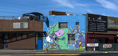 The Arts Factory mural