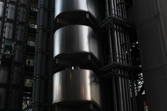 (heatherelawrence) Tags: building london architecture steel lloyds canon60d lloydsbuiling