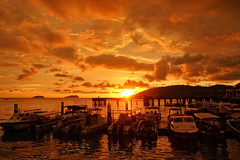 Sunset|Sabah Malaysia (TommyYeung) Tags: