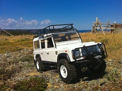 land rover defender d110 (calio88) Tags: scale truck control 4x4 110 rover land remote rc defender 110th gelande rc4wd