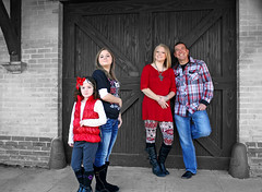 Family Affair (McKenzie's Photography) Tags: she wood family boy woman man male brick love girl female barn children square landscape him outside town couple downtown texas child outdoor tx father country daughter mother her parent his waxahachie