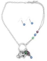 Glimpse of Malibu Blue Necklace P2710A-2