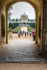 Tipu Sultan's Tomb (gecko47) Tags: india tomb karnatika tipusultan mandya freedomfighter tonemapped gumbaz tamronaf28300mmf3563xrdildasphericalif tigerofmysore peopleandpaths