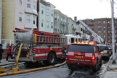 3rd Alarm Fire in Yonkers om 1/14/15 (zamboni-man) Tags: rescue tower fire 1 office engine police 11 71 management empress ladder 311 emergency yonkers ems 74 72 department officer 306 310 73 309 westchester 307 305 304 308 oem auxiliary