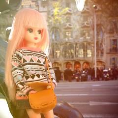 Akihabara the Forgetful (nkawai) Tags: barcelona pink japan hair de japanese casa doll barbie chan gaudi takara licca passeig tomy gracia cositas batlló denenitas