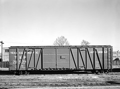 [Double Door Freight Car 70579 Automobile, Texas & Pacific Railway Company] (SMU Central University Libraries) Tags: trains tp locomotives railroads tenders texaspacificrailway texasandpacific railroadfreightcars