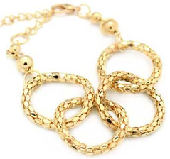5th Avenue Gold Bracelet P9310A-4